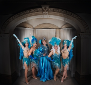 The Southern Sisters showgirls!
